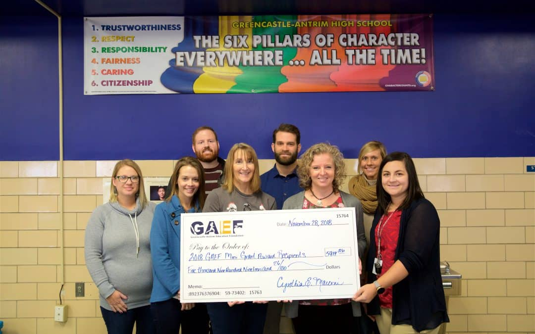 GAEF Awards just under $6,000 in Mini-Grants to G-A Teachers and Counselors