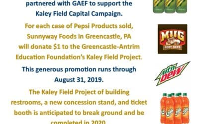 Sunnyway Foods in Greencastle Supports GAEF