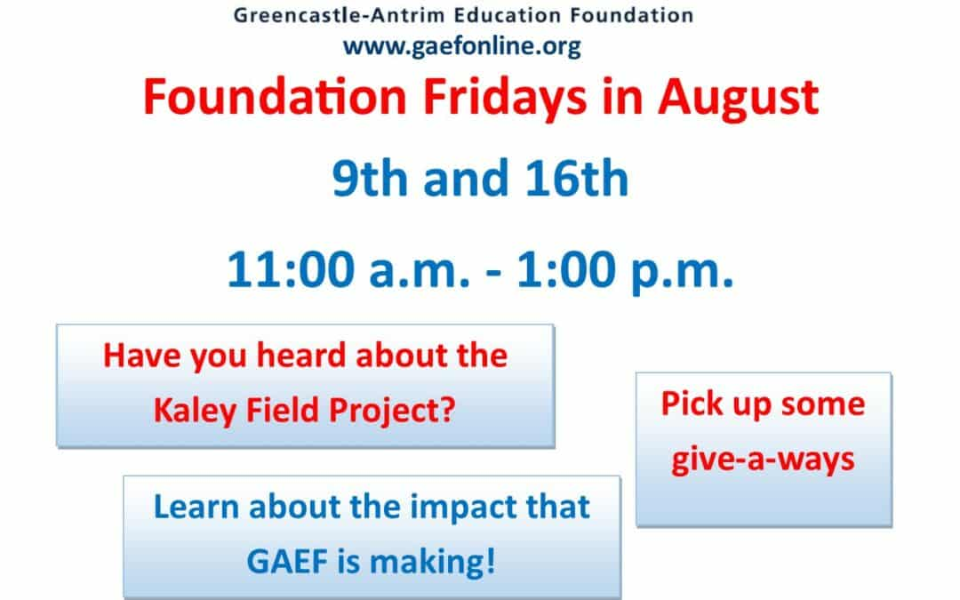 Foundation Fridays