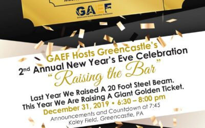 New Year's Eve in Greencastle, PA